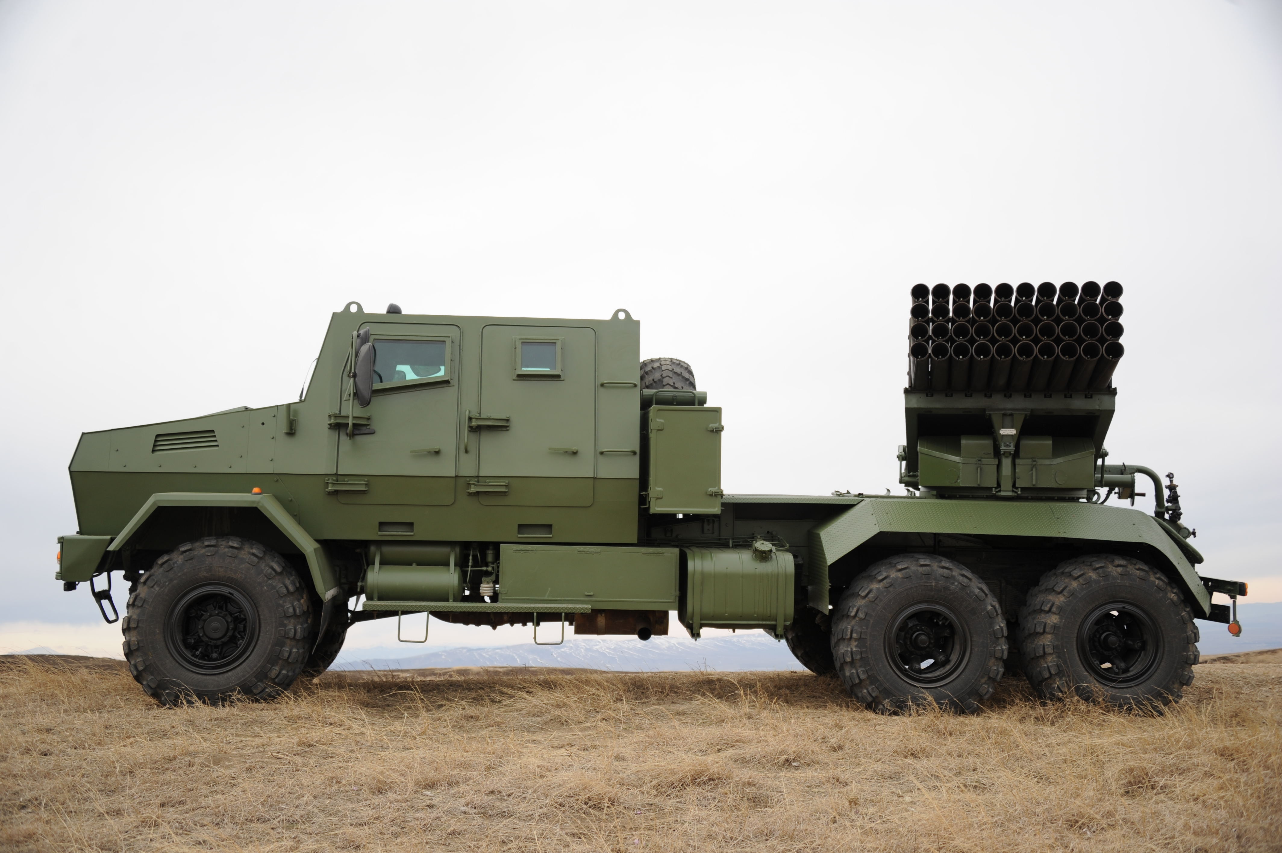 Multiple Rocket Launcher System – RS-122