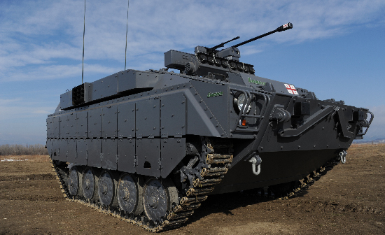 The First Georgian Infantry Fighting Vehicle Lazika