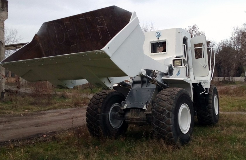 Armored Engineering Equipment for Demining Works