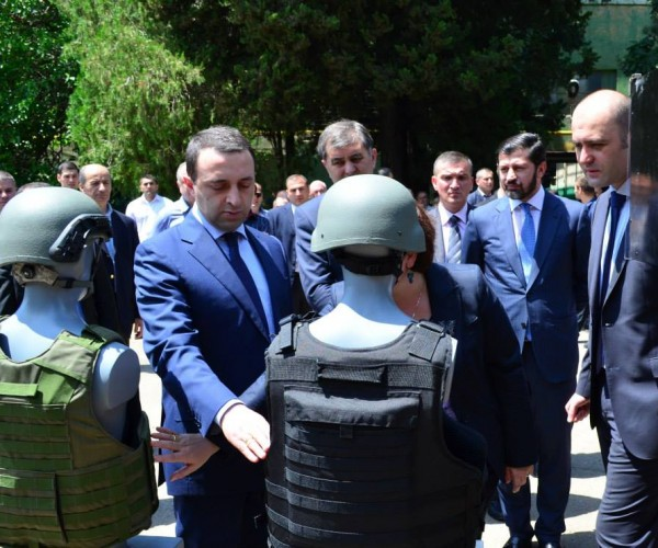 Georgian Prime Minister and Defence Minister visited DELTA