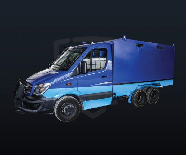 Armored Cash-in-Transit Route Truck