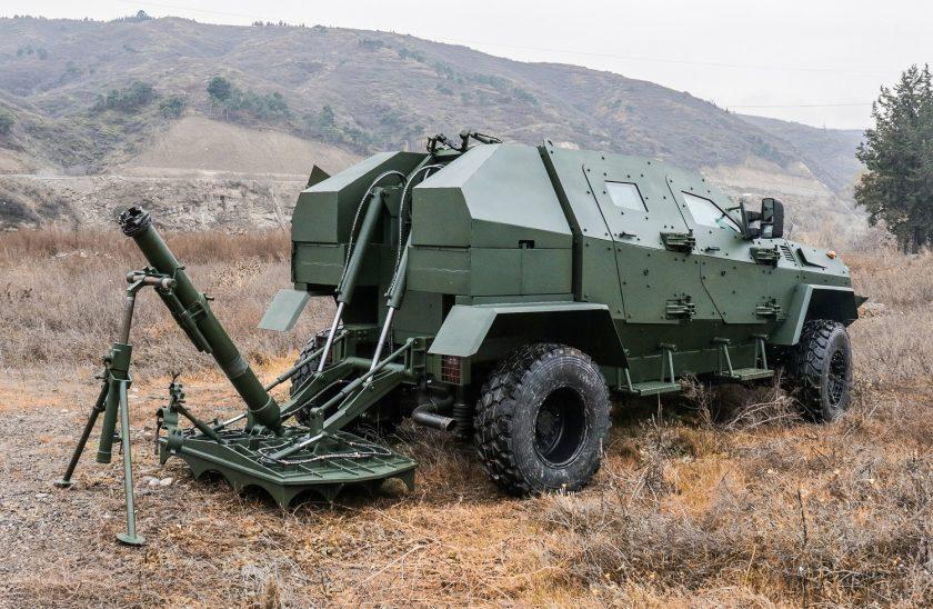 DIDGORI MEOMARI 120 mm mobile mortar system